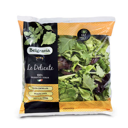 Mix con Baby kale