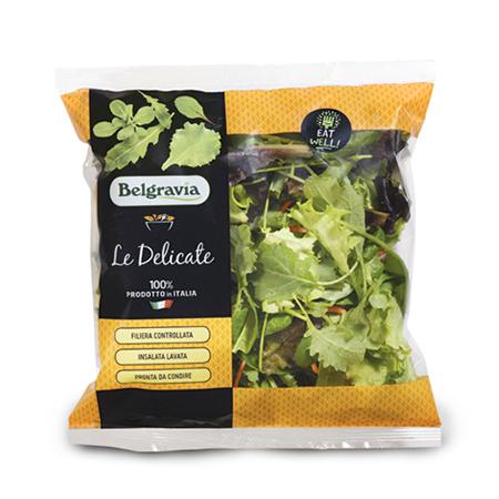 Mix con Baby kale e carote